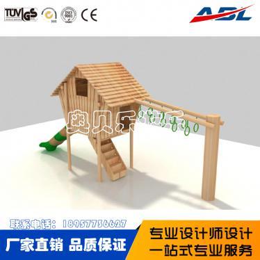 ABL110木zhi儿童组合hua梯