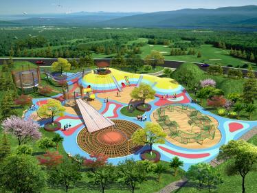 hu外公园景区游乐设施
