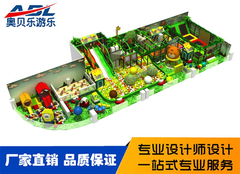 淘气堡,森林主题淘气堡儿童乐园