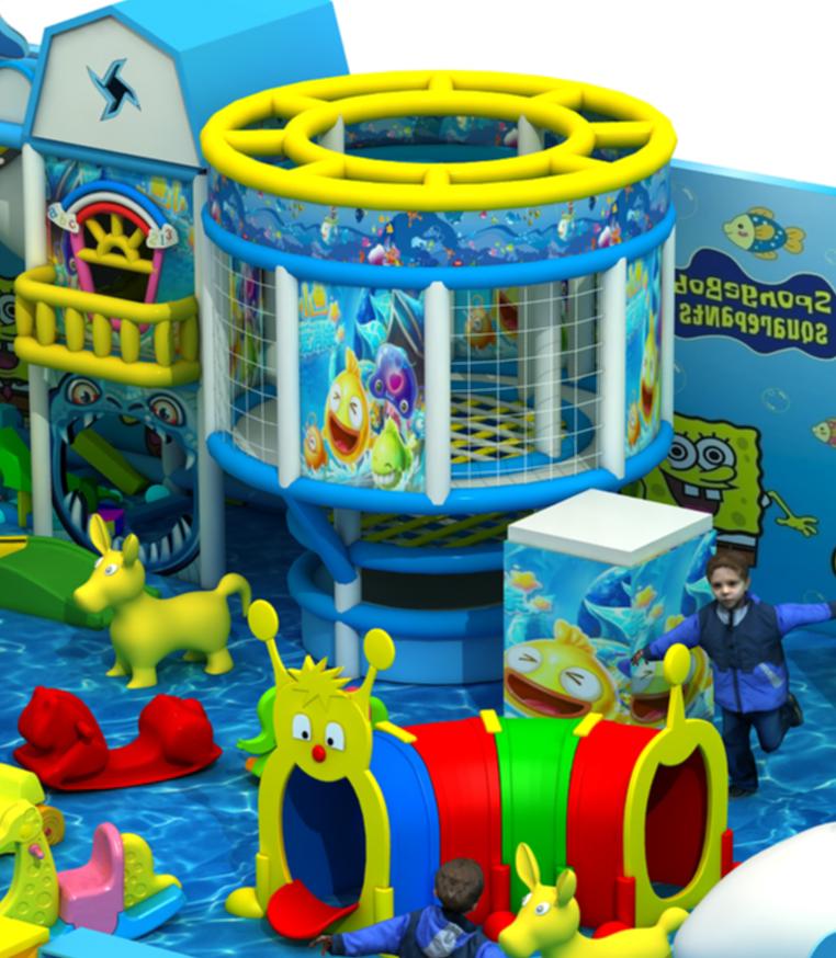 淘气堡,皇家海洋主题淘气堡儿童乐园